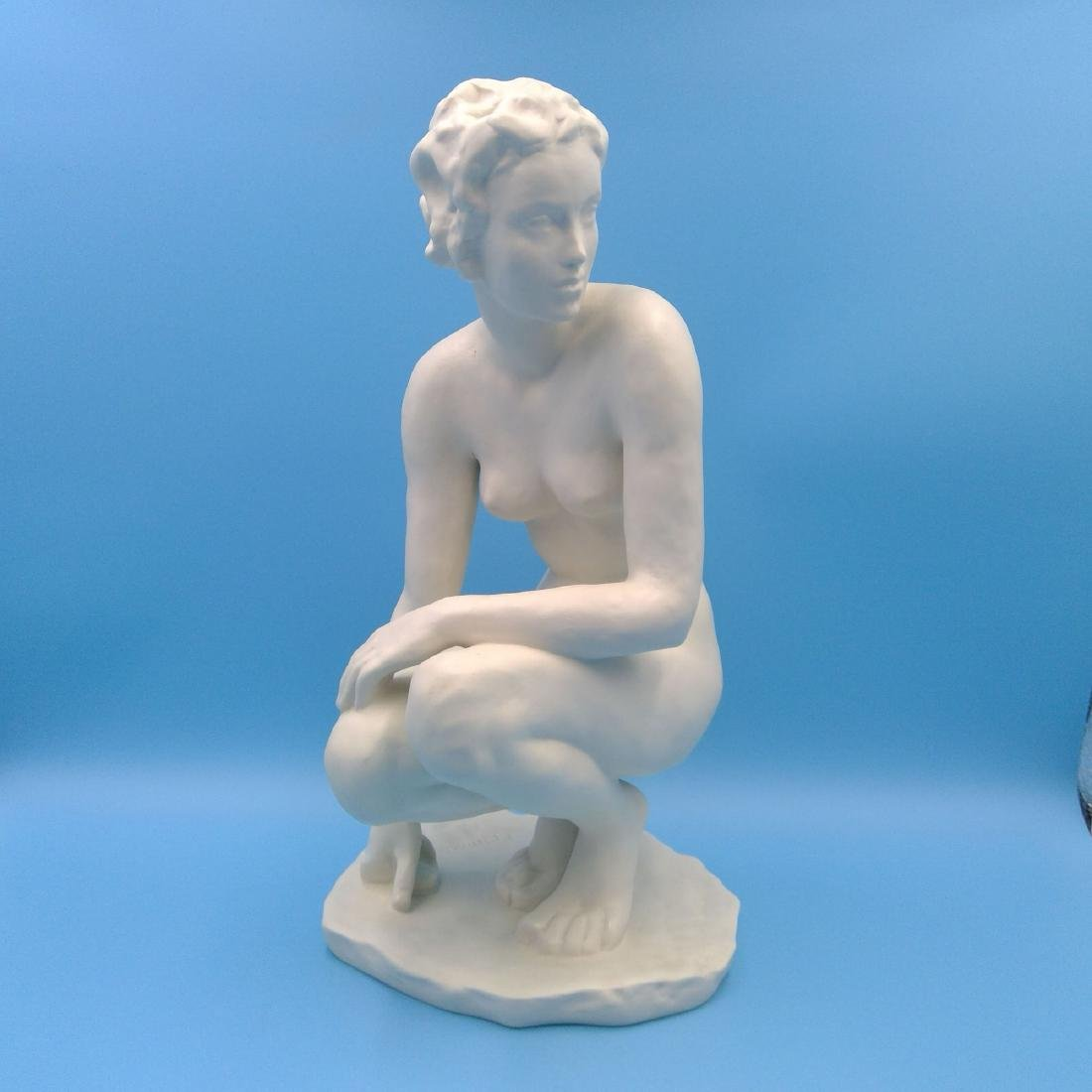 ROSENTHAL NUDE SCULPTURE LARGE FIGURINE