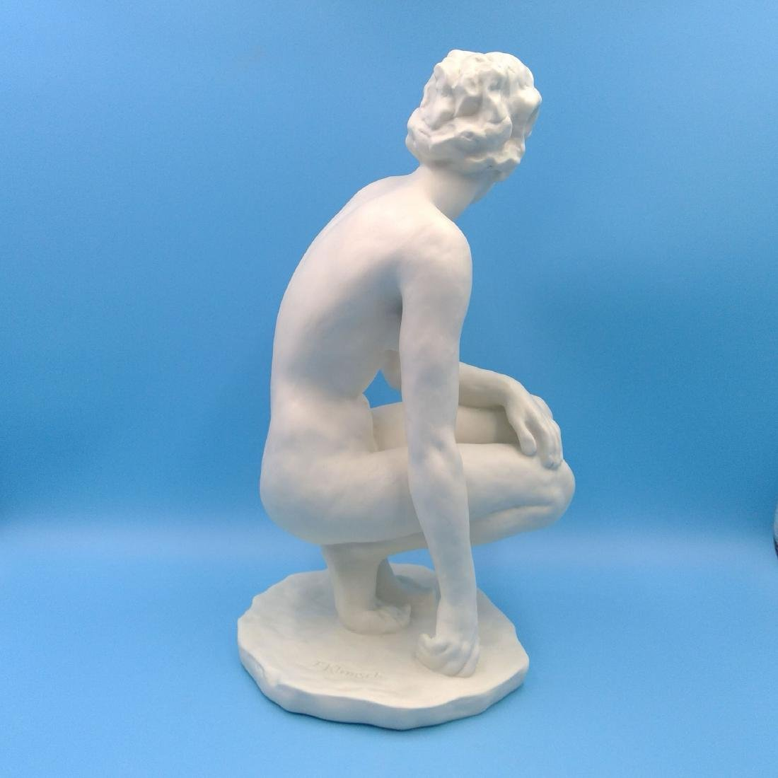 ROSENTHAL NUDE SCULPTURE LARGE FIGURINE - 4