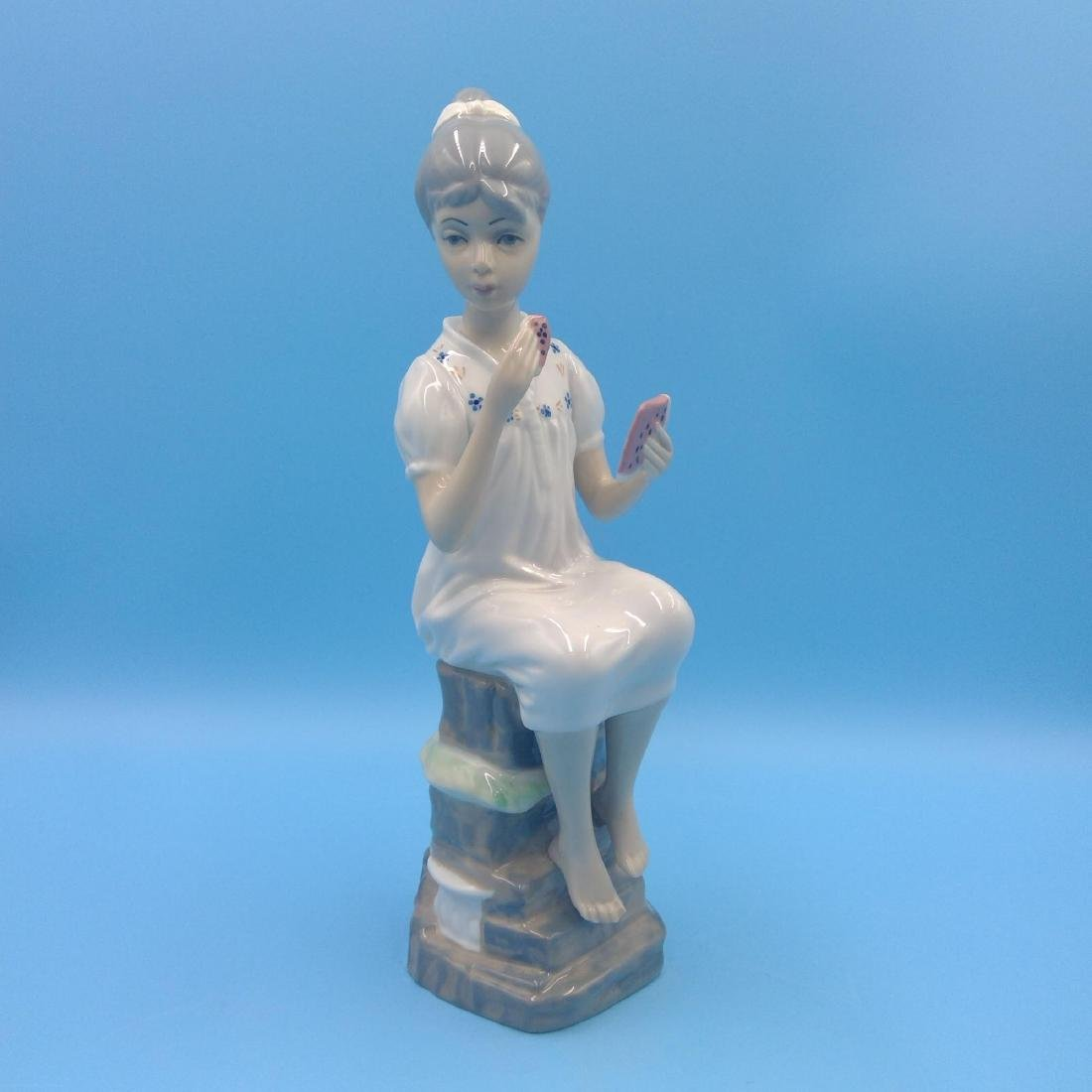 GROUP OF 3 SPANISH PORCELAIN FIGURINES - 2