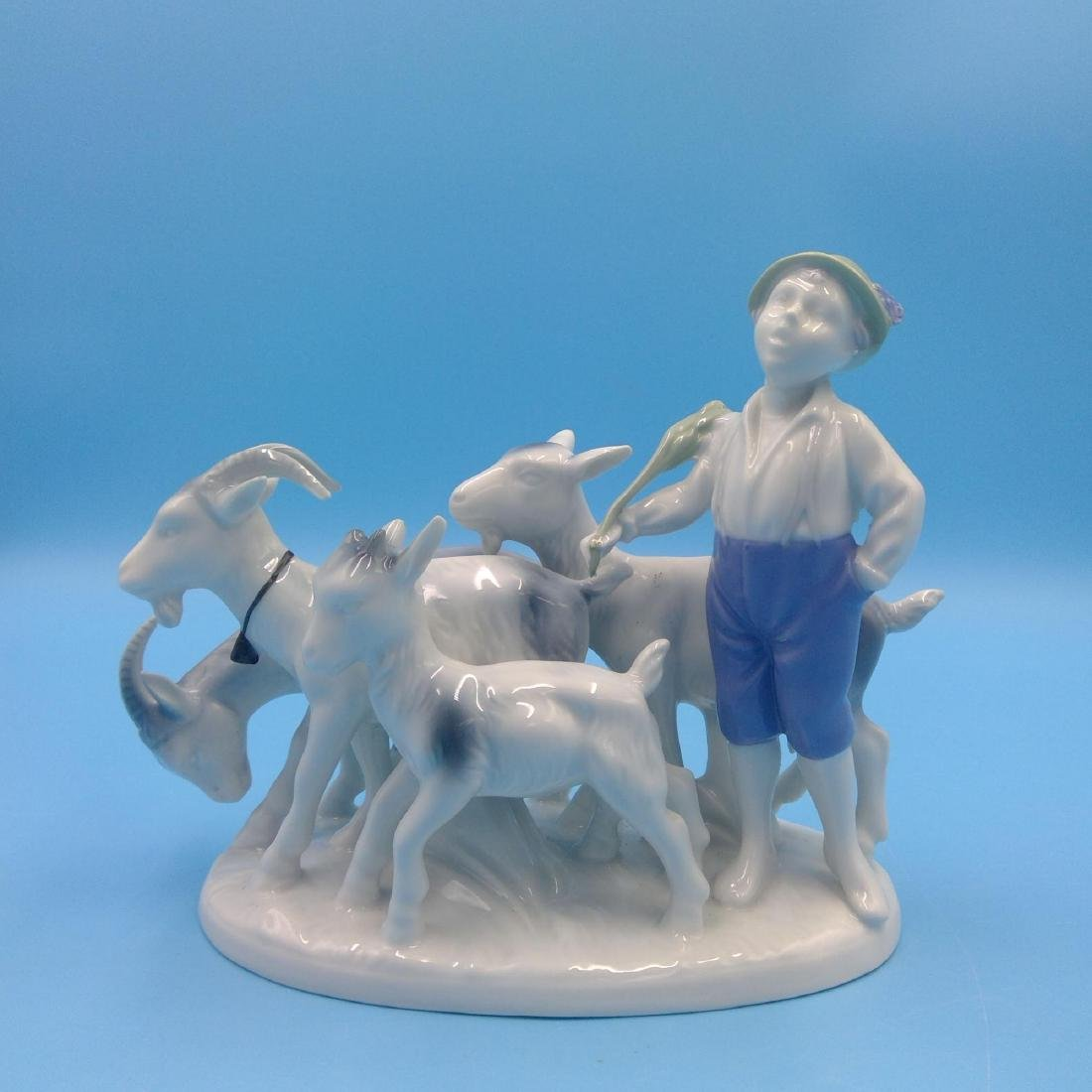 GROUP OF 6 GERMAN PORCELAIN FIGURINES - 3