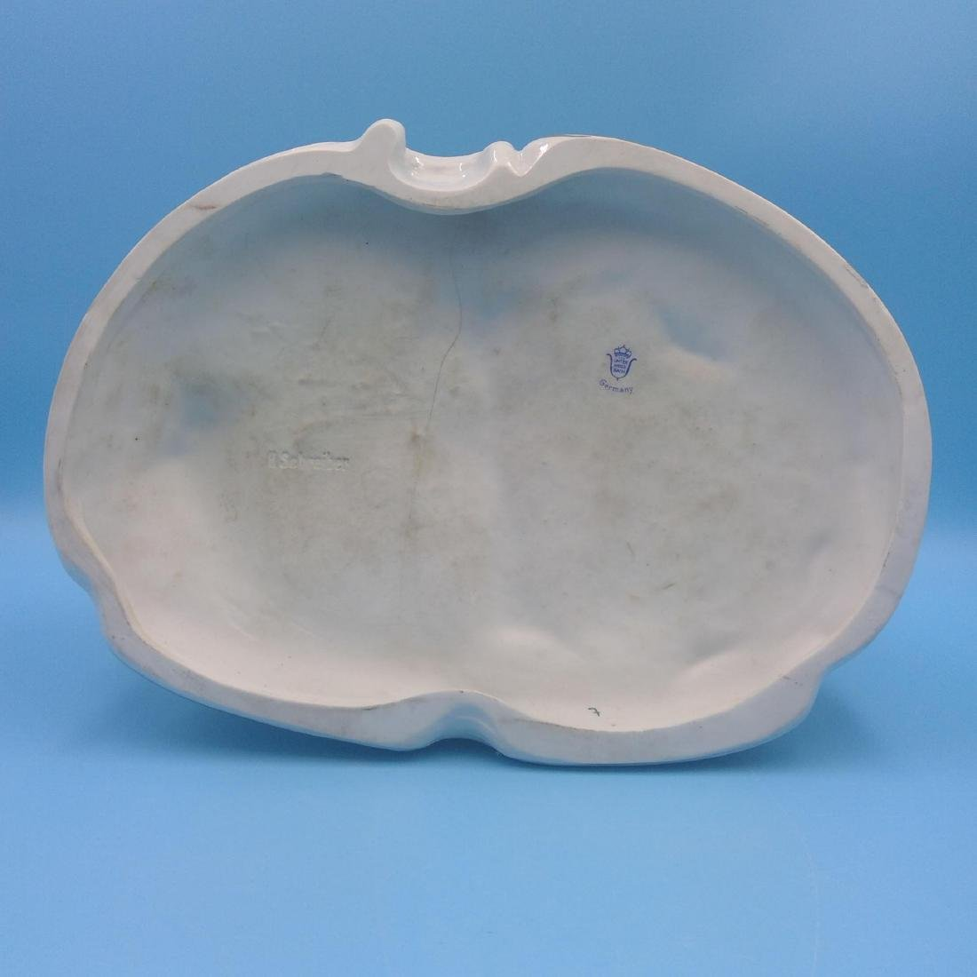 UNTER WEISS BACH LARGE GERMAN PORCELAIN GROUP - 8