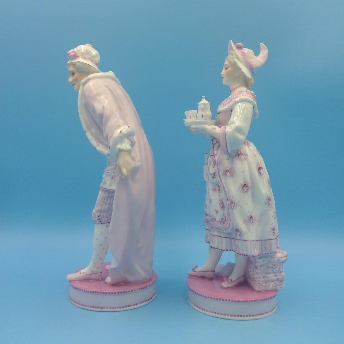 PAIR OF 19thC FRENCH VION & BAURY FIGURINES - 2