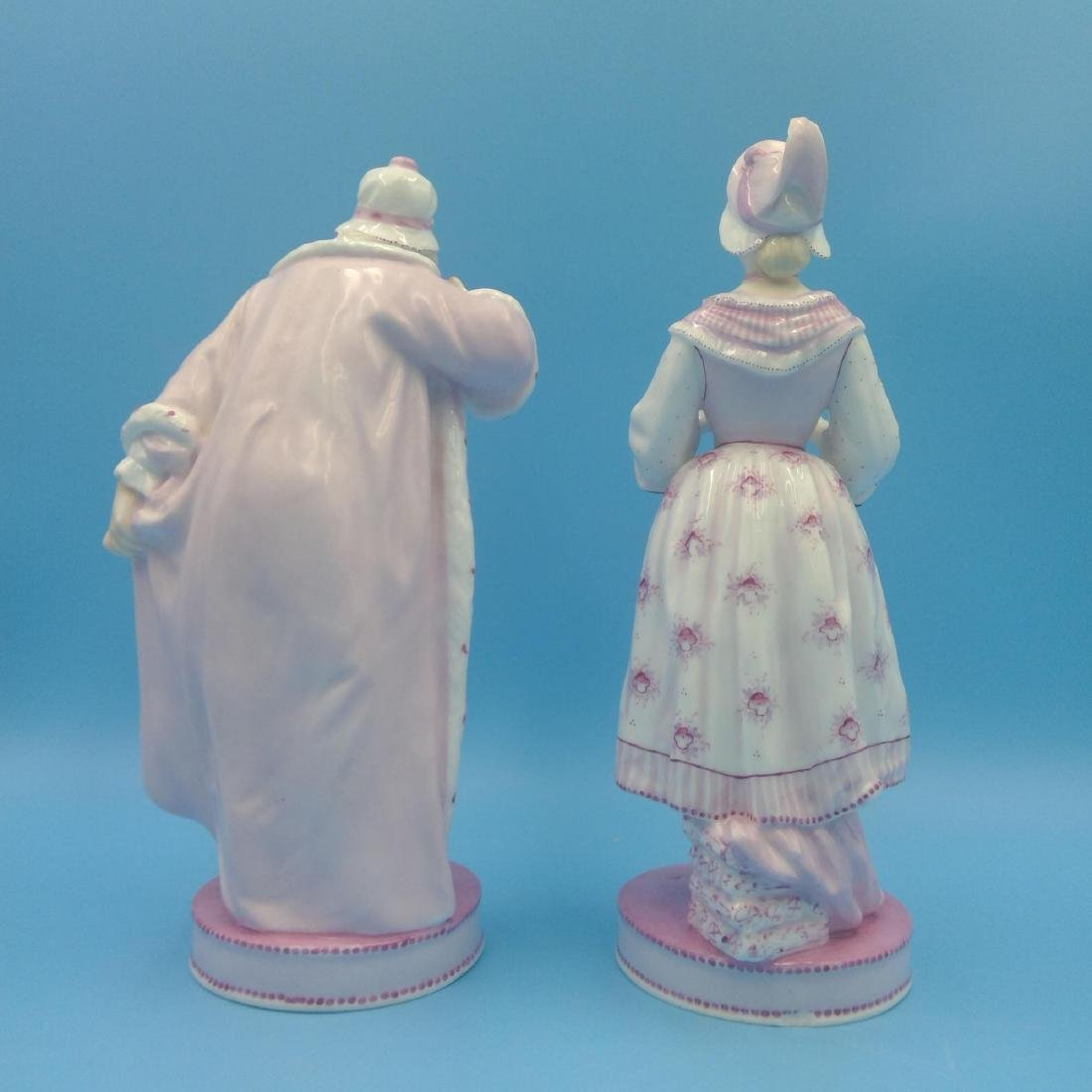 PAIR OF 19thC FRENCH VION & BAURY FIGURINES - 3