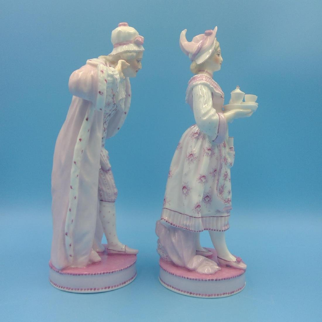 PAIR OF 19thC FRENCH VION & BAURY FIGURINES - 4