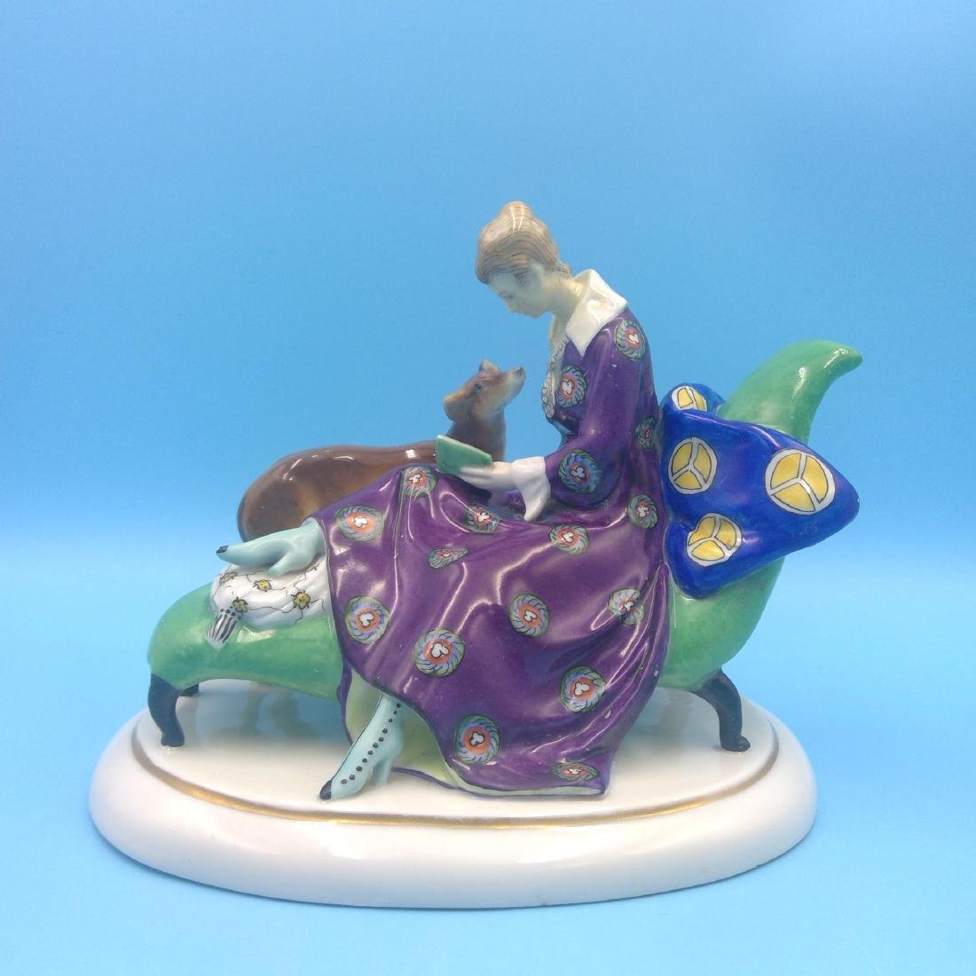 GOEBEL ART DECO GERMAN PORCELAIN FIGURINE