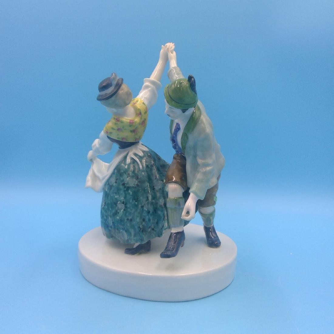 KARL ENS GERMAN PORCELAIN FIGURINE DANCING COUPLE - 2