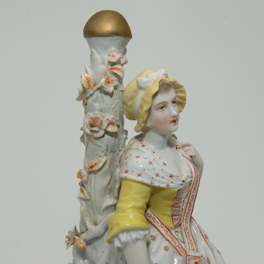 PAIR MEISSEN JOHANSEN ROTH LARGE FIGURINES - 4