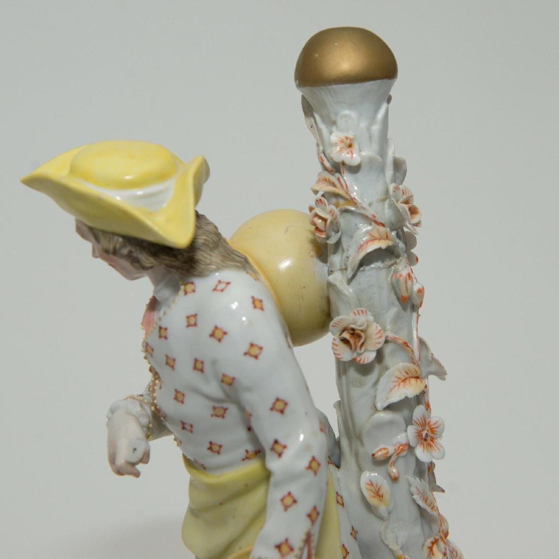 PAIR MEISSEN JOHANSEN ROTH LARGE FIGURINES - 6