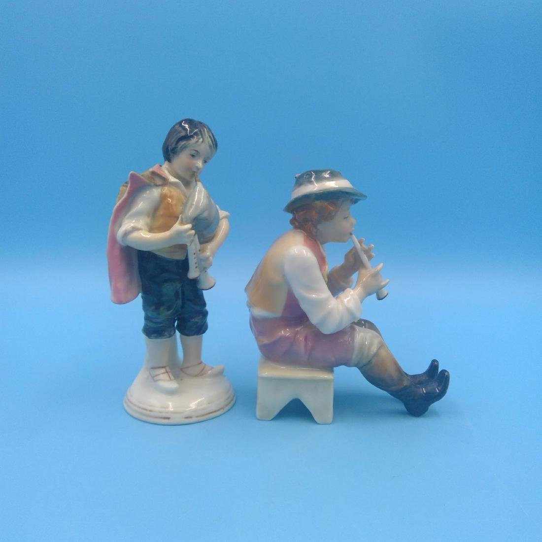 GROUP OF 2 KARL ENS MUSICIANS FIGURINES - 4
