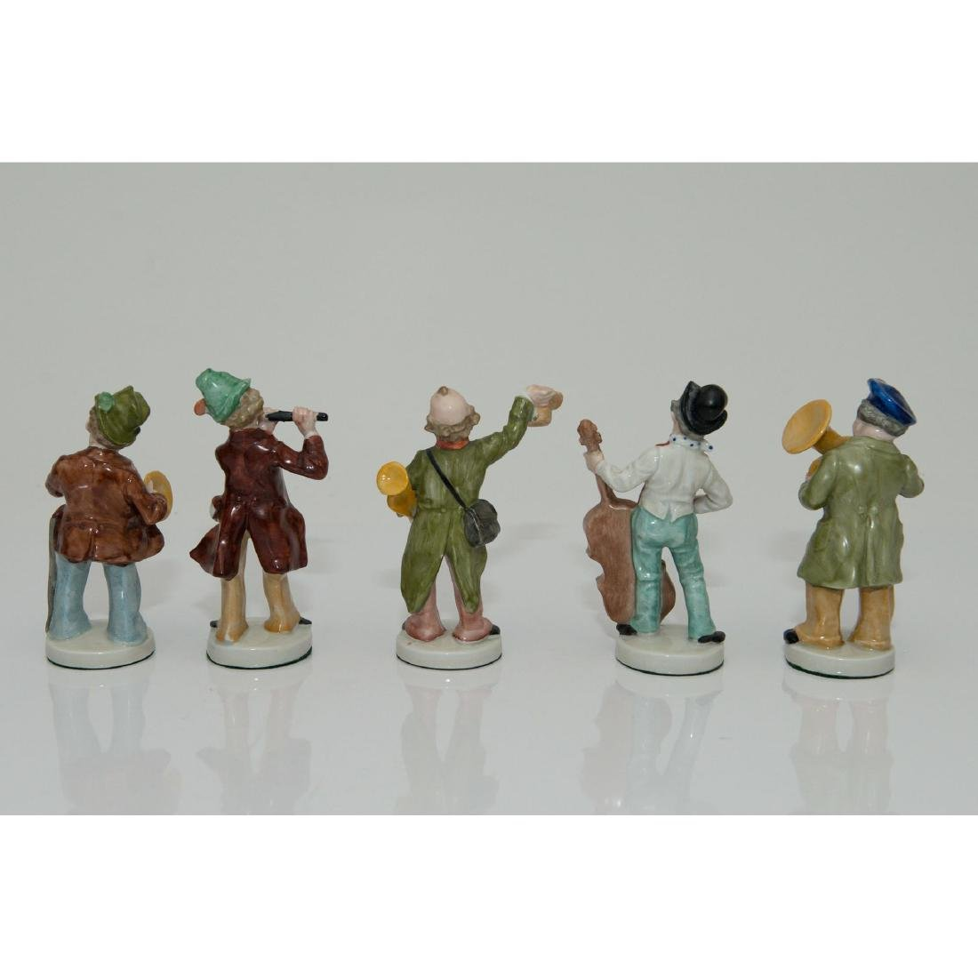 GROUP OF 5 GRAFENTHAL GERMAN ORCHESTRA FIGURINES - 2