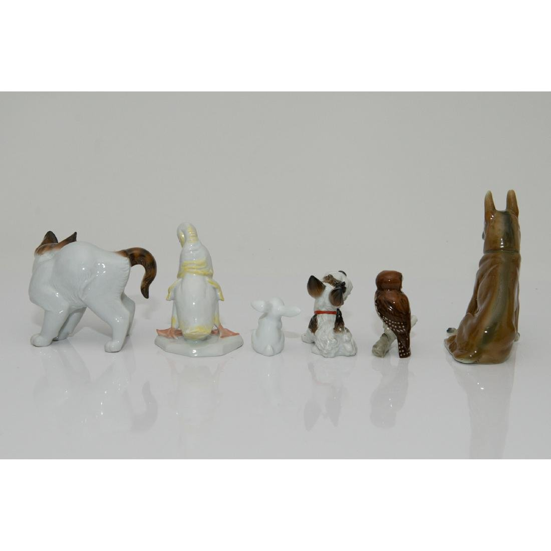 GROUP OF 6 ROSENTHAL HUTSCHENREUTHER ANIMALS - 2