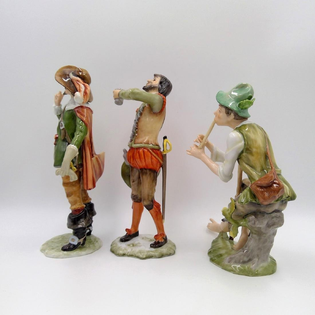 GROUP OF 3 KAISER GERMAN PORCELAIN FIGURINES - 2