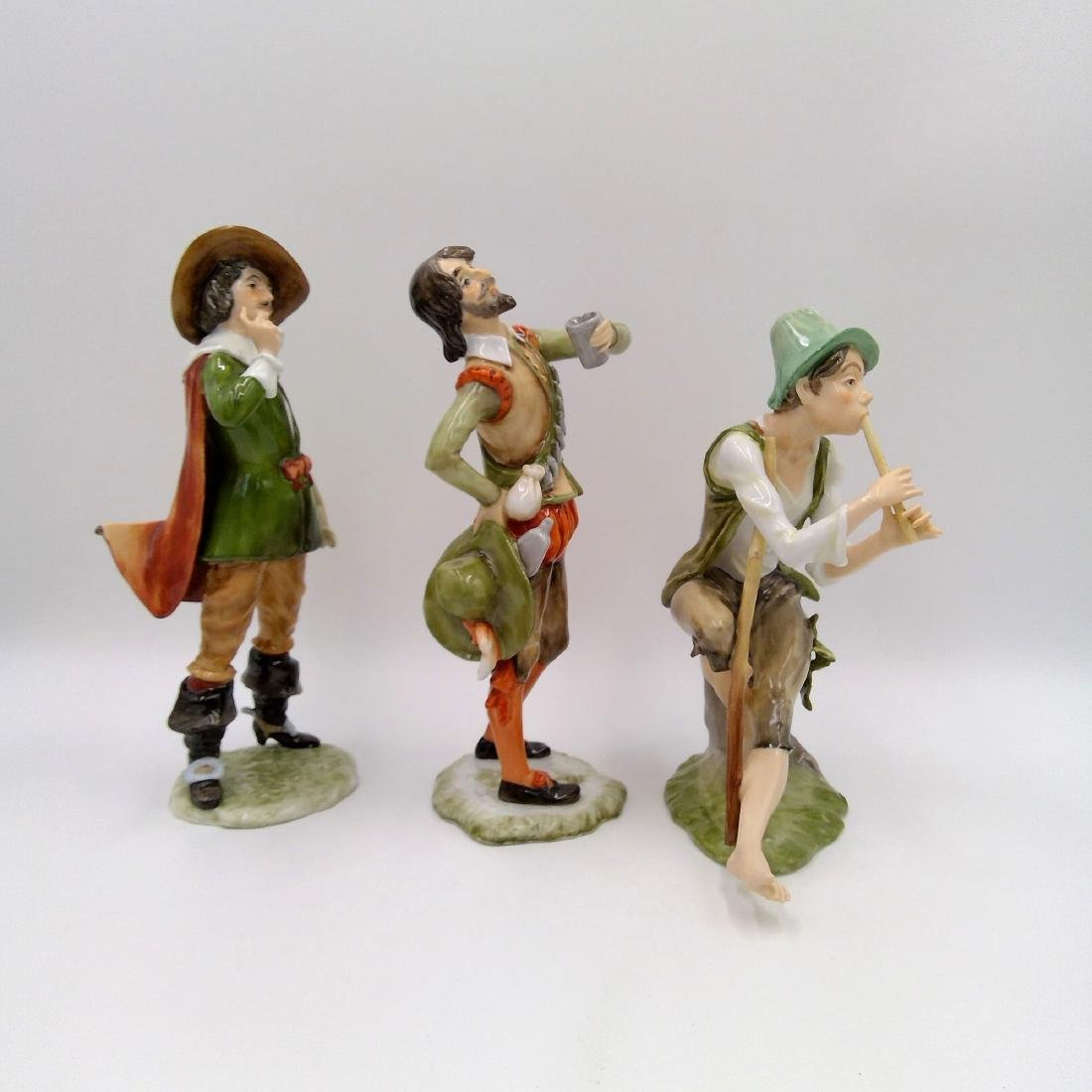 GROUP OF 3 KAISER GERMAN PORCELAIN FIGURINES - 4
