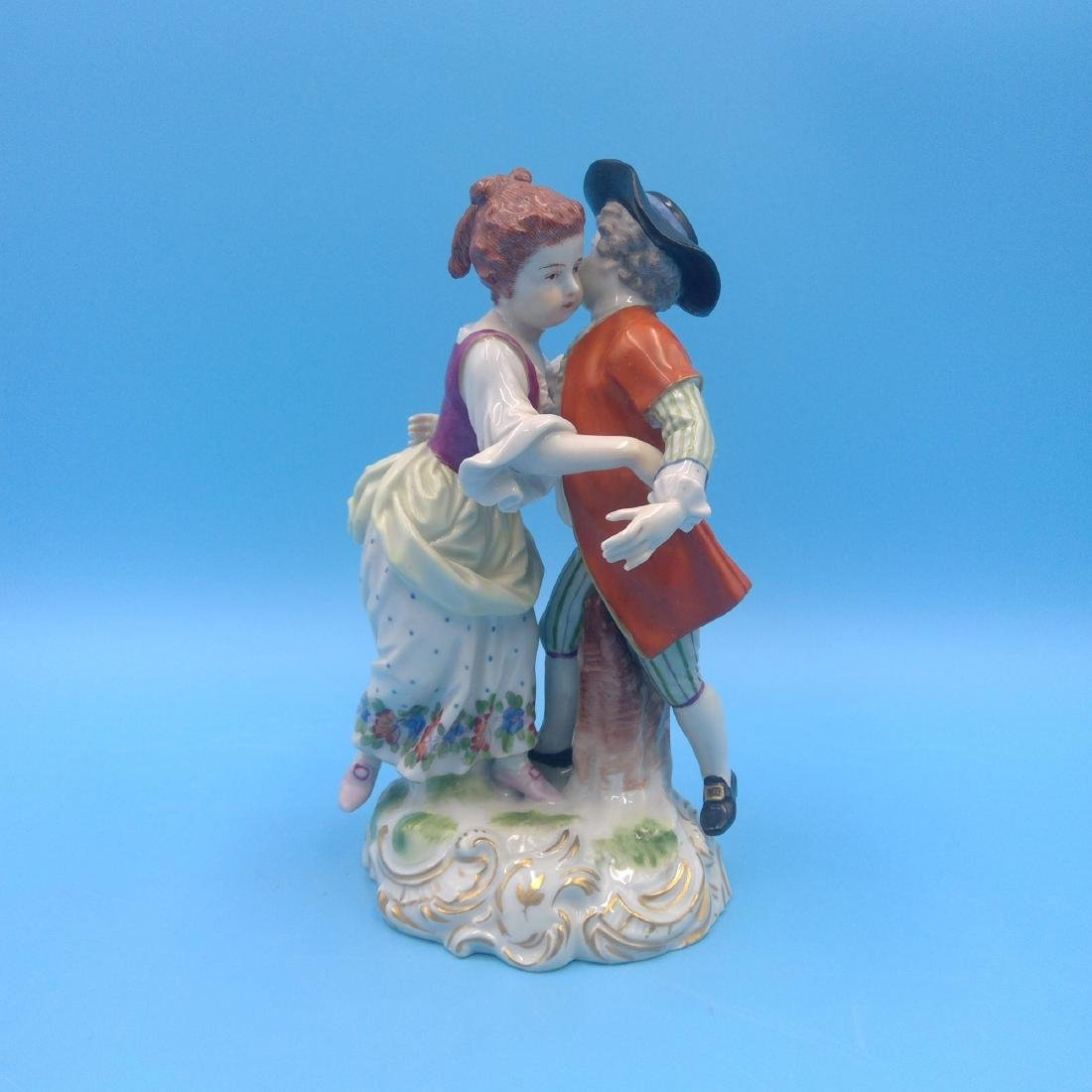 ROYAL VIENNA AUSTRIAN PORCELAIN GROUP FIGURINE