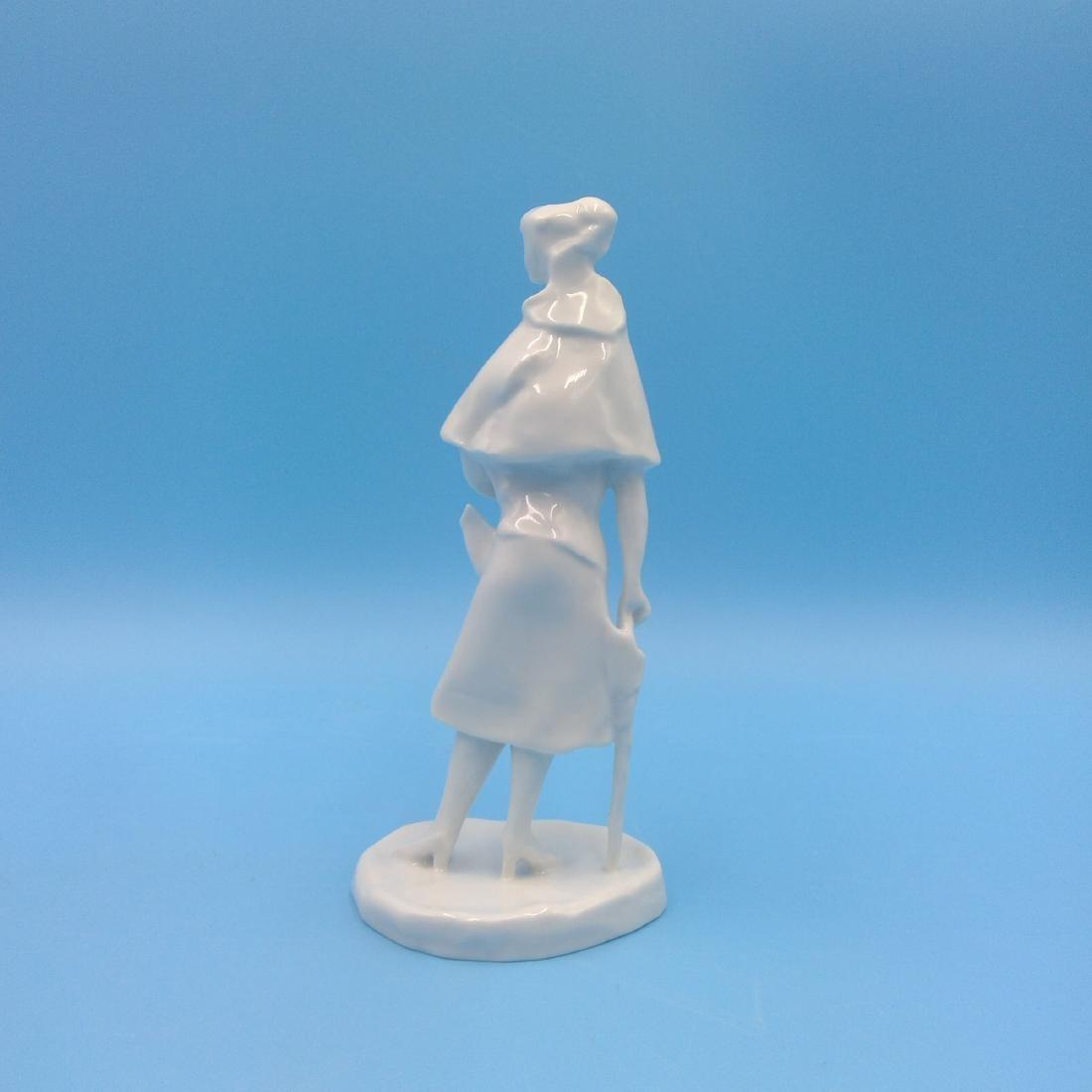 ROSENTHAL GERMAN PORCELAIN FIGURINE LADY - 3