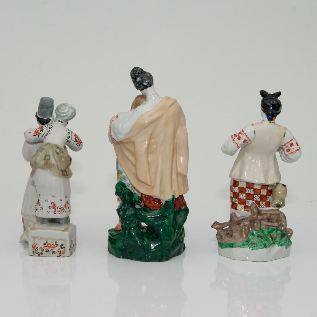 GROUP OF 3 SOVIET UNION PORCELAIN FIGURINES - 2