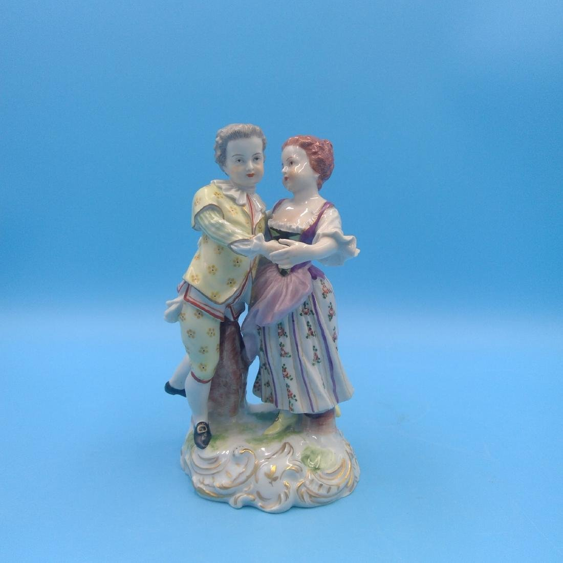 ROYAL VIENNA FIGURINE DANCING COUPLE