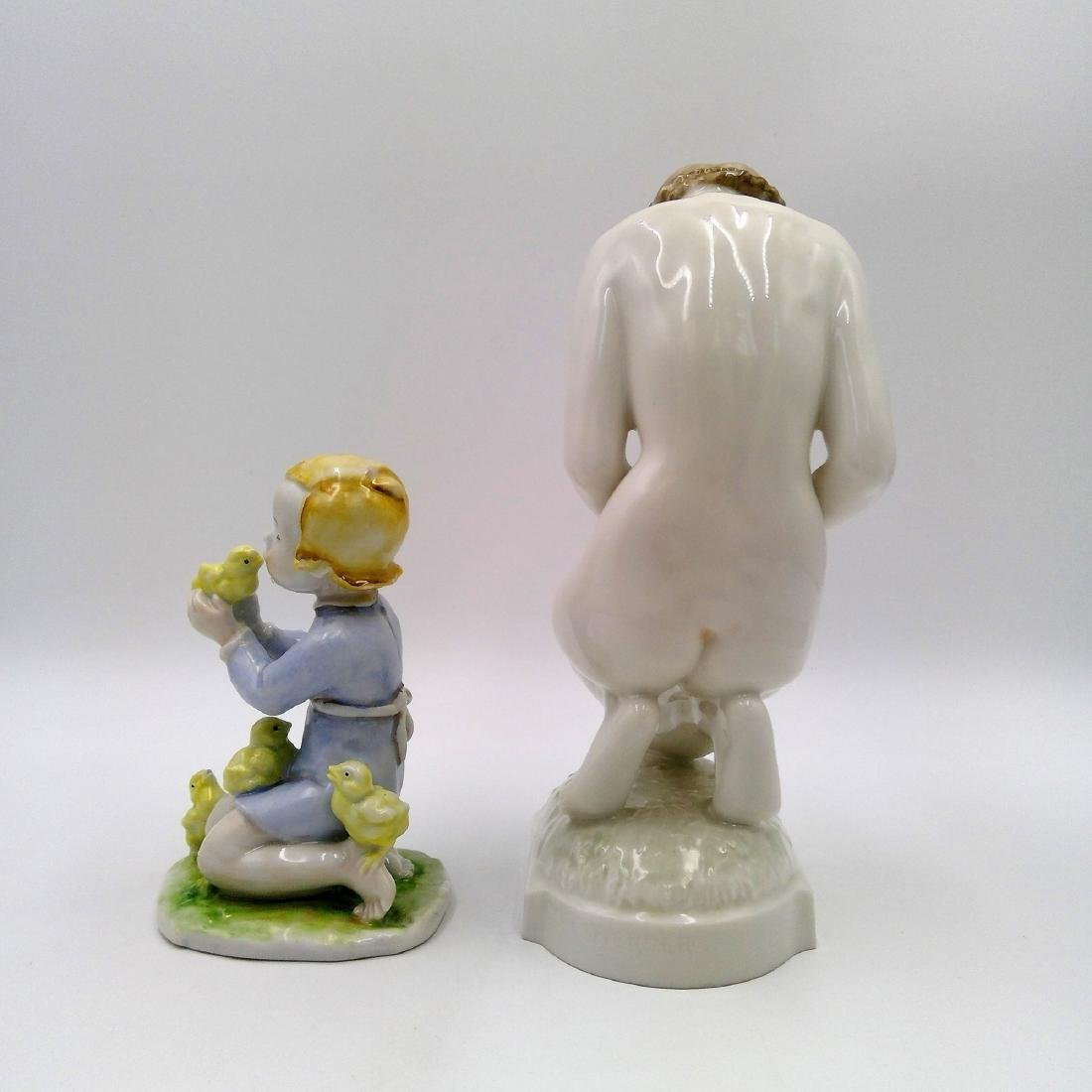 GROUP OF 2 ROSENTHAL & HUTSCHENREUTHER FIGURINES - 2