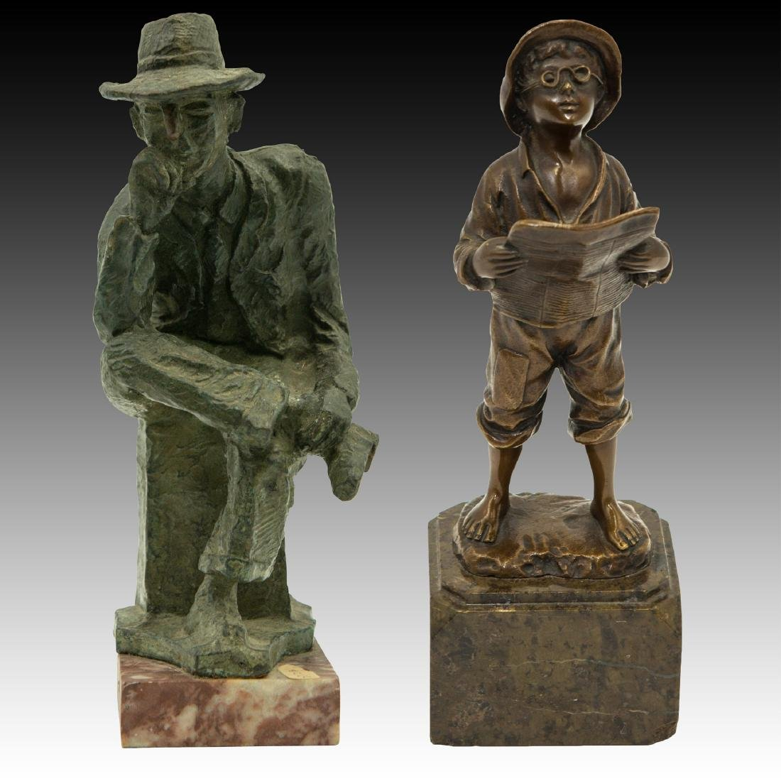 M. GARMAN & J. SCHMIDT-FELLING BRONZE SCULPTURES