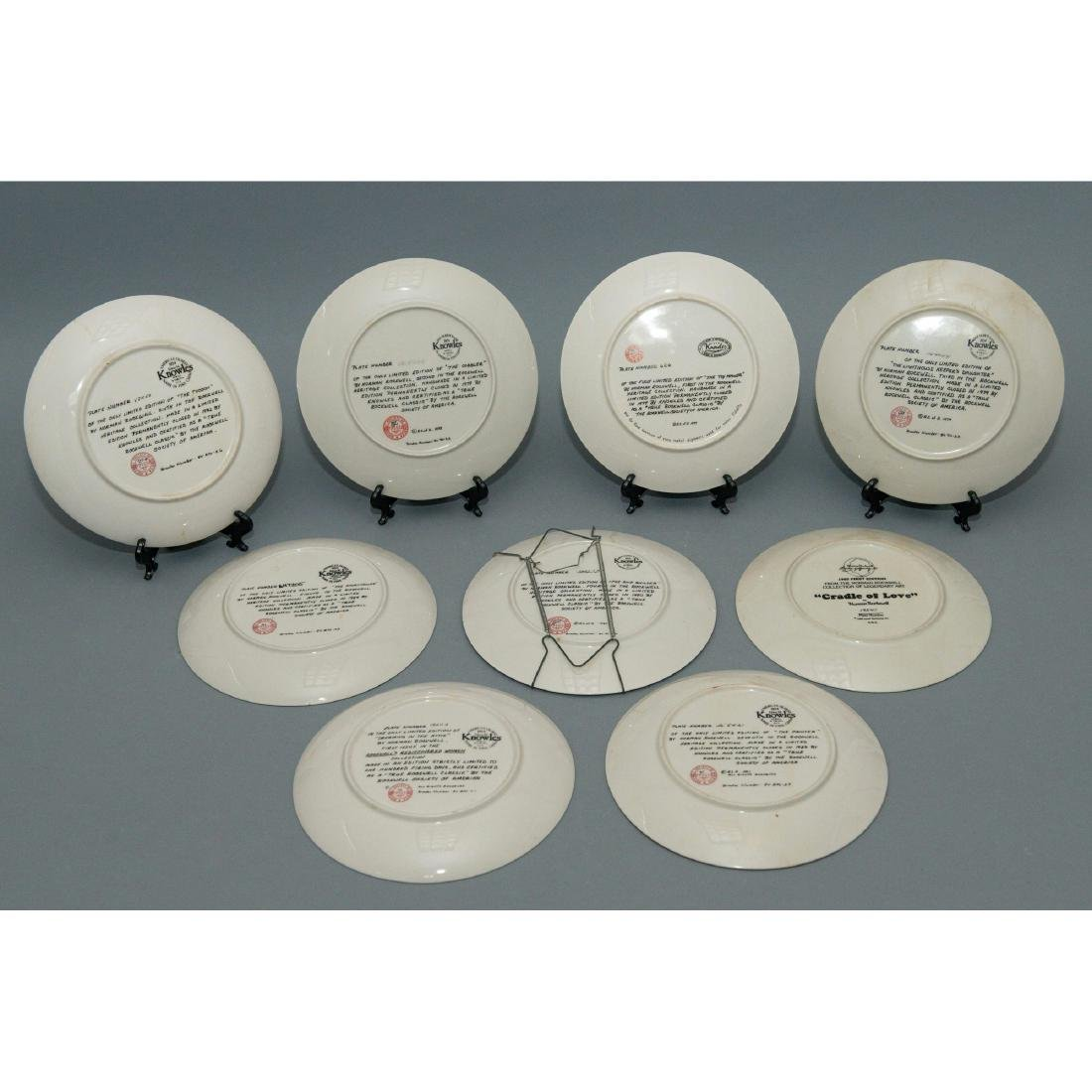 9 NORMAN ROCKWELL COMMEMORATIVE PLATES - 2