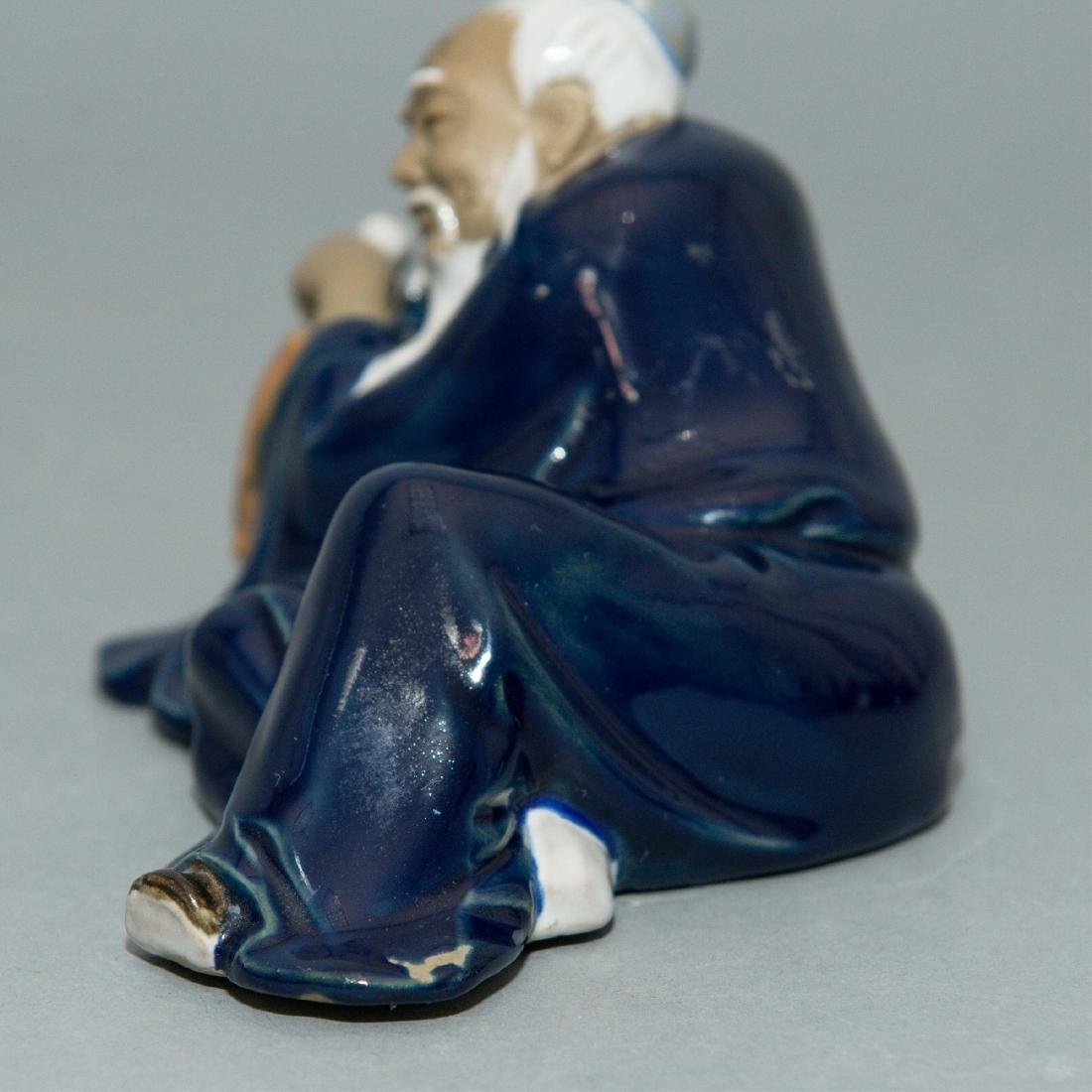 CHINESE MUDMAN FIGURINE, MID-20TH CENTURY - 3