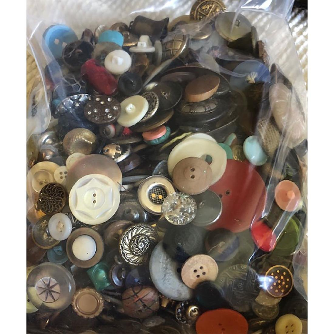 LARGE BAG LOT OF ASSORTED MATERIALS