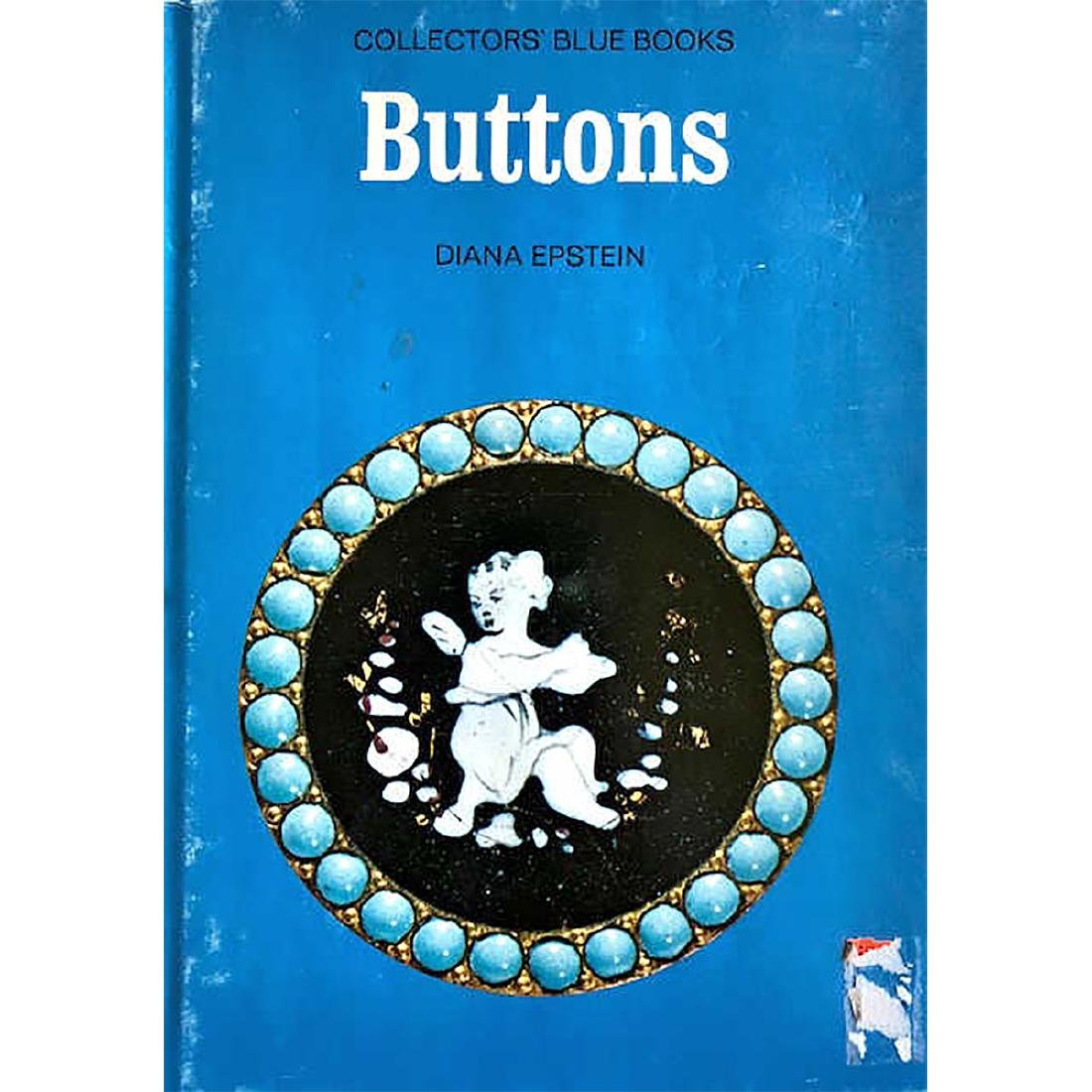 """2 BUTTON BOOKS INCLUDING """"BUTTONS"""" BY EPSTEIN"""