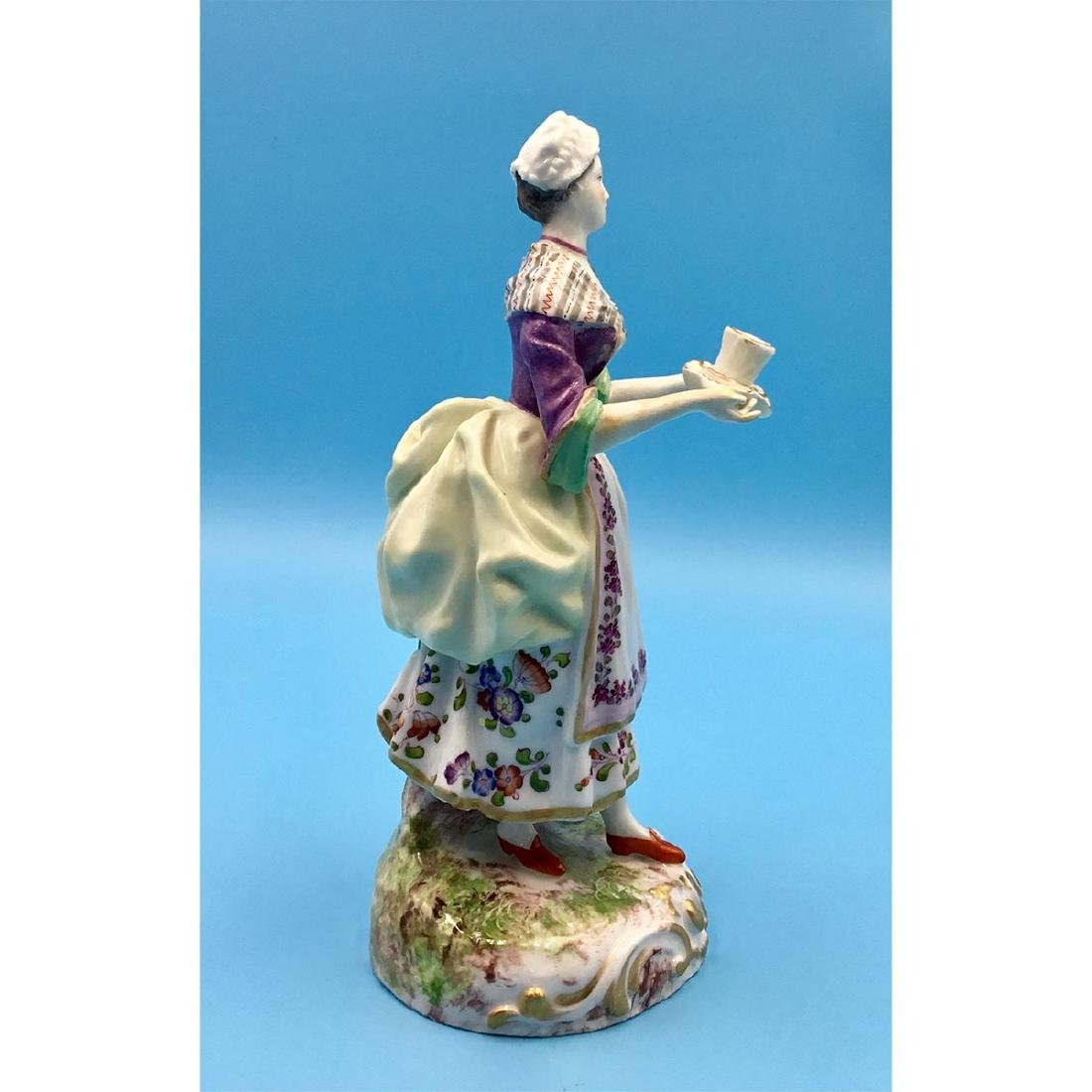 ACHILLE BLOCH FRENCH PORCELAIN FIGURINE - 4