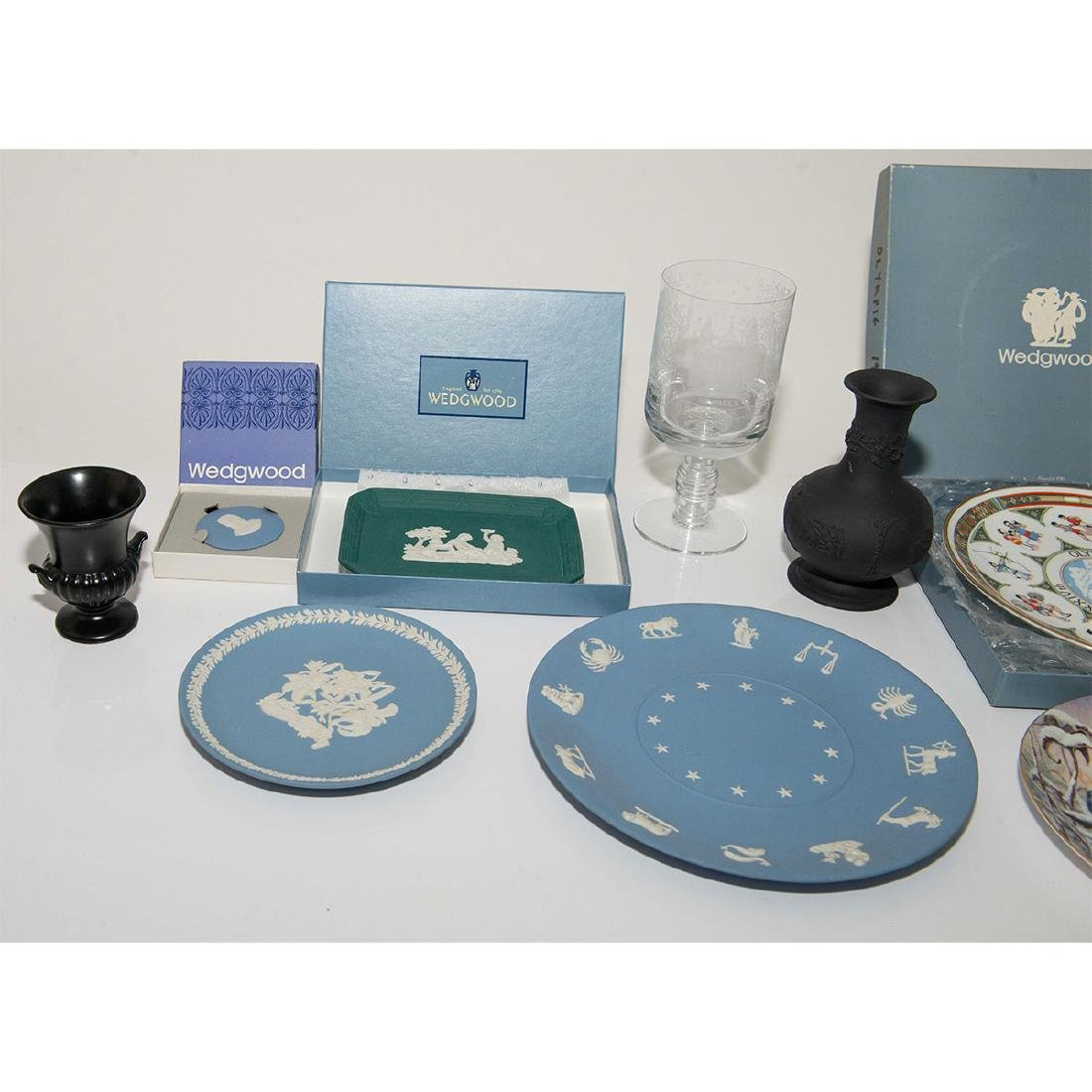Wedgwood Group of 9pc Plates Dishes Tray - 2