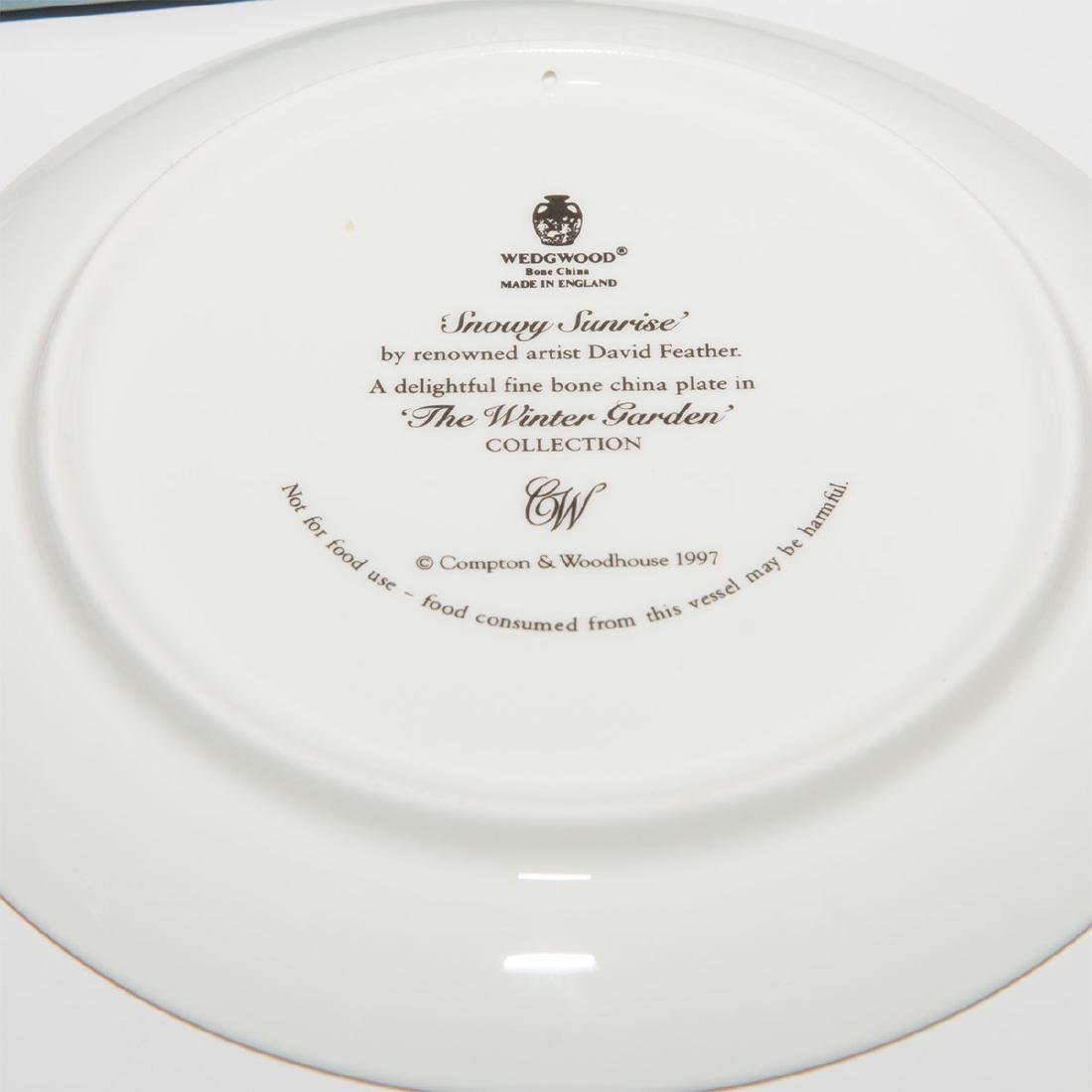 Wedgwood Group of 9pc Plates Dishes Tray - 9
