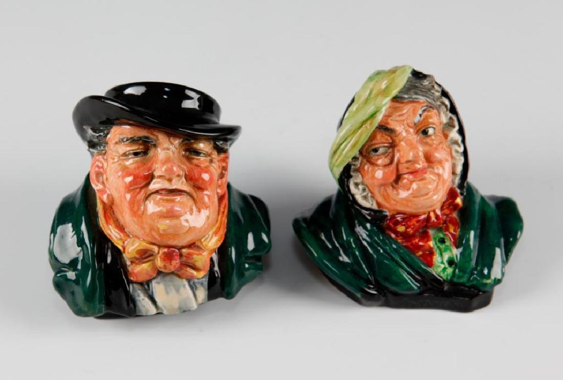 ROYAL DOULTON CHARLES DICKENS BOOKENDS - 4