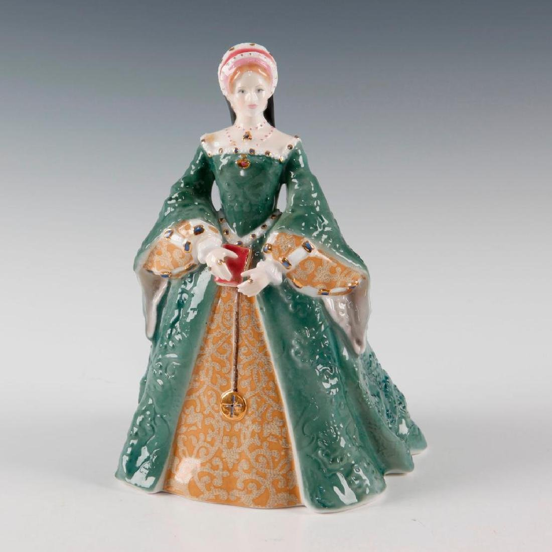 ROYAL WORCESTER FIGURE QUEEN MARY I CW 506