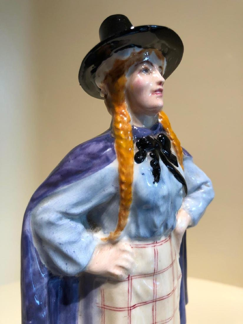 ROYAL DOULTON FIGURE OF A WELSH GIRL - 7