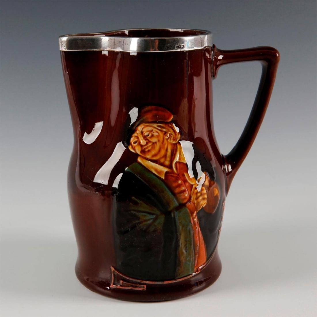 ROYAL DOULTON KINGSWARE JUG HOGARTH WITH TANKARD
