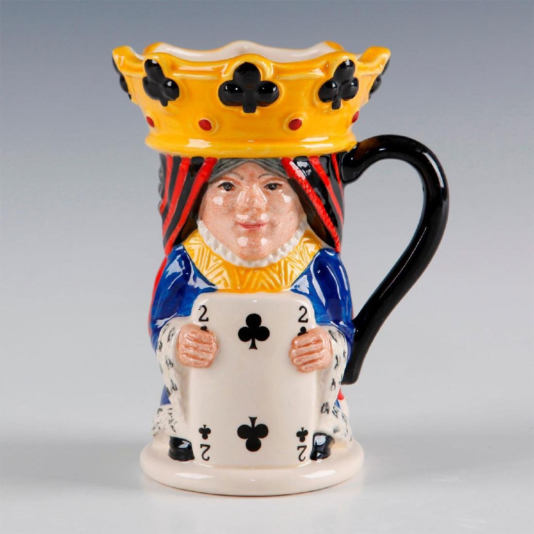 ROYAL DOULTON TOBY JUG KING AND QUEEN OF CLUBS D6999