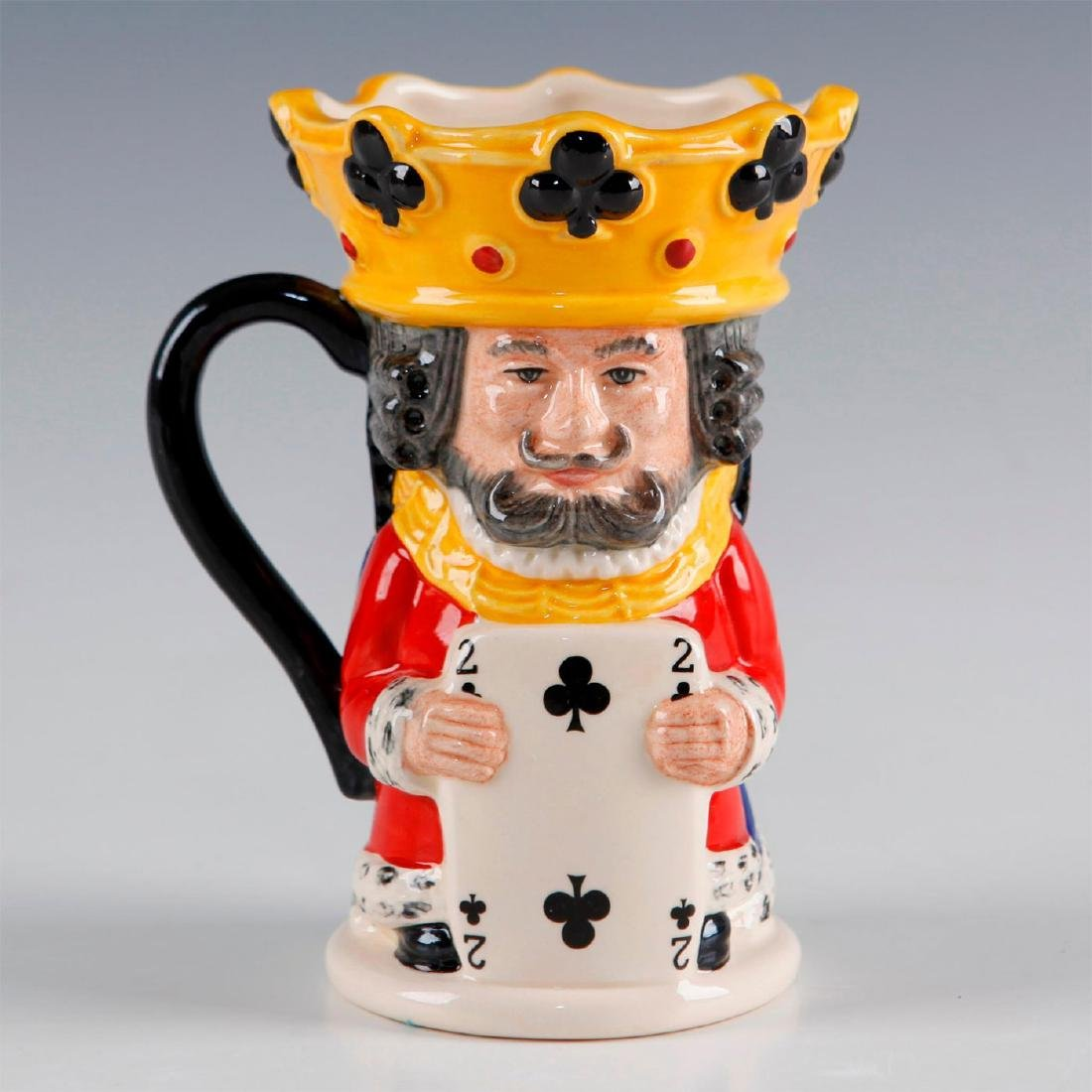 ROYAL DOULTON TOBY JUG KING AND QUEEN OF CLUBS D6999 - 3