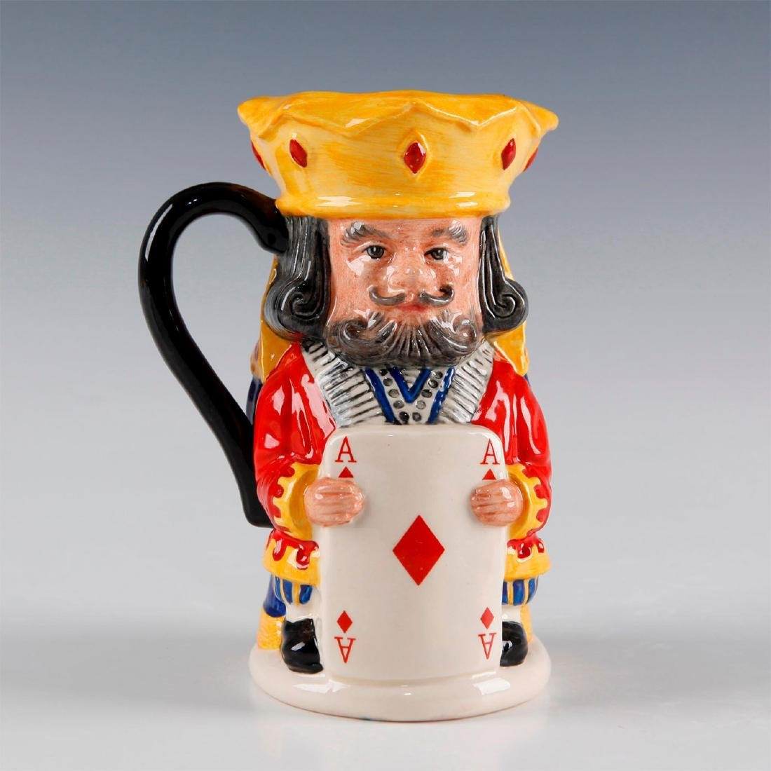 ROYAL DOULTON TOBY JUG KING AND QUEEN OF DIAMONDS D6969