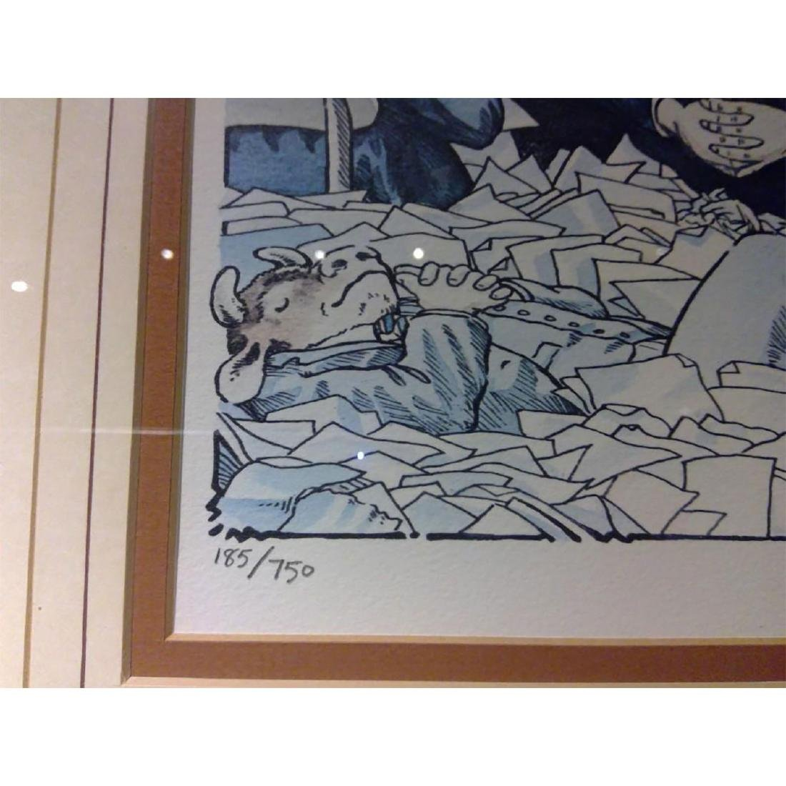 SET OF 2 SIGNED BOB FARNDON LIMITED EDITION LITHOGRAPHS - 10