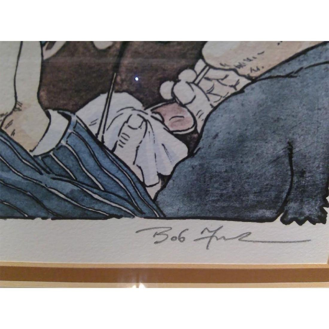 SET OF 2 SIGNED BOB FARNDON LIMITED EDITION LITHOGRAPHS - 4