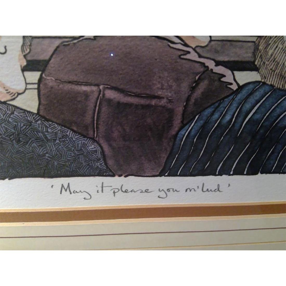 SET OF 2 SIGNED BOB FARNDON LIMITED EDITION LITHOGRAPHS - 5