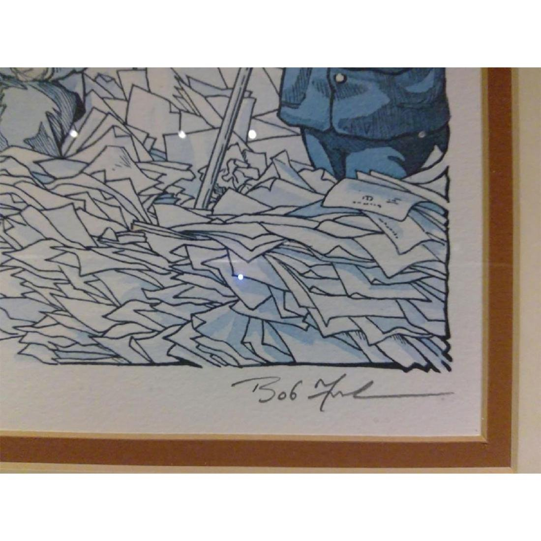 SET OF 2 SIGNED BOB FARNDON LIMITED EDITION LITHOGRAPHS - 8