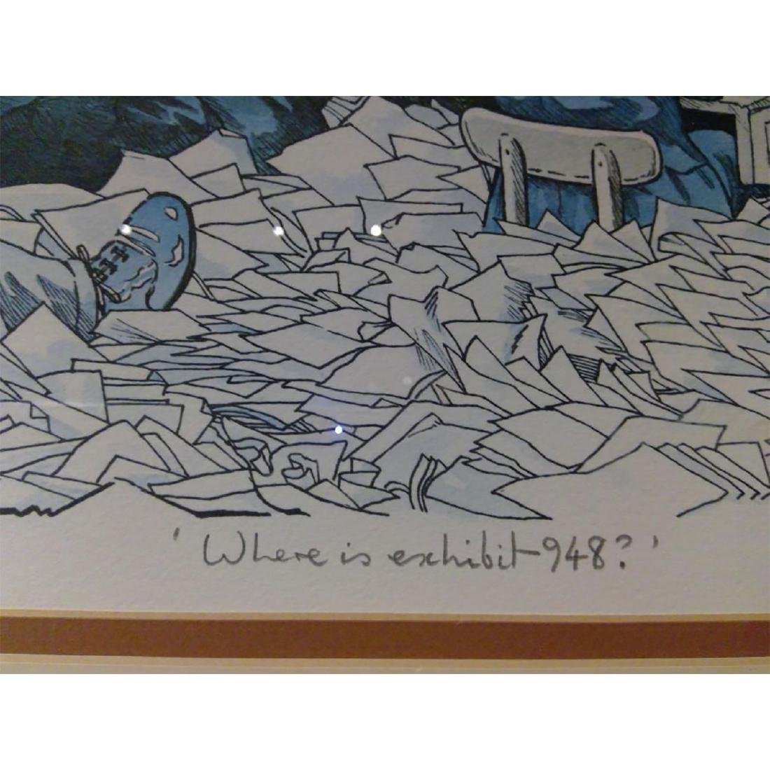 SET OF 2 SIGNED BOB FARNDON LIMITED EDITION LITHOGRAPHS - 9