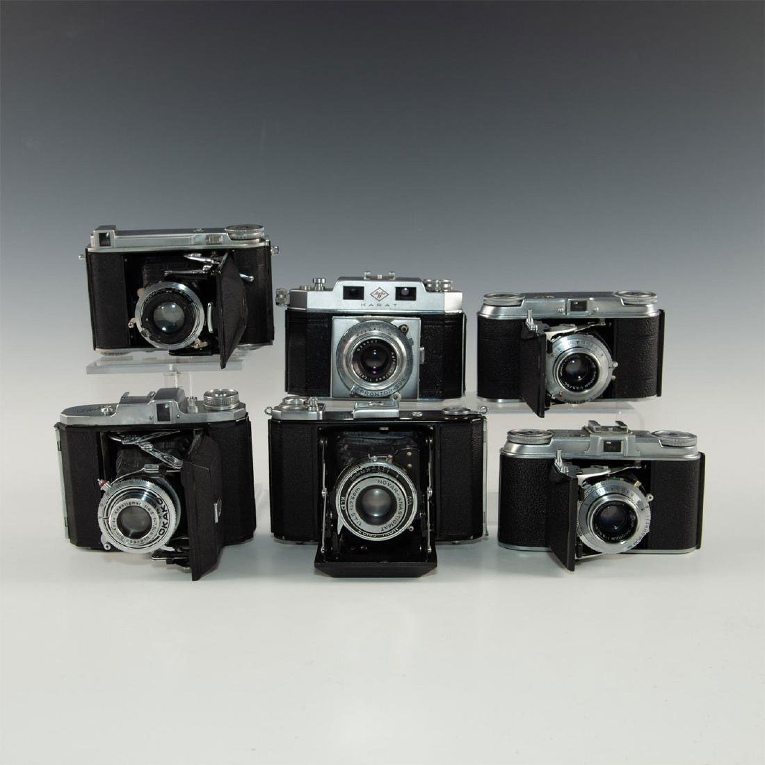 GROUP OF 6 MID 20TH CENTURY ROLL FILM CAMERAS