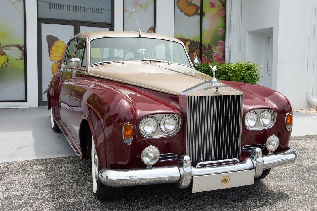1964 ROLLS-ROYCE SILVER CLOUD III MOTOR CAR