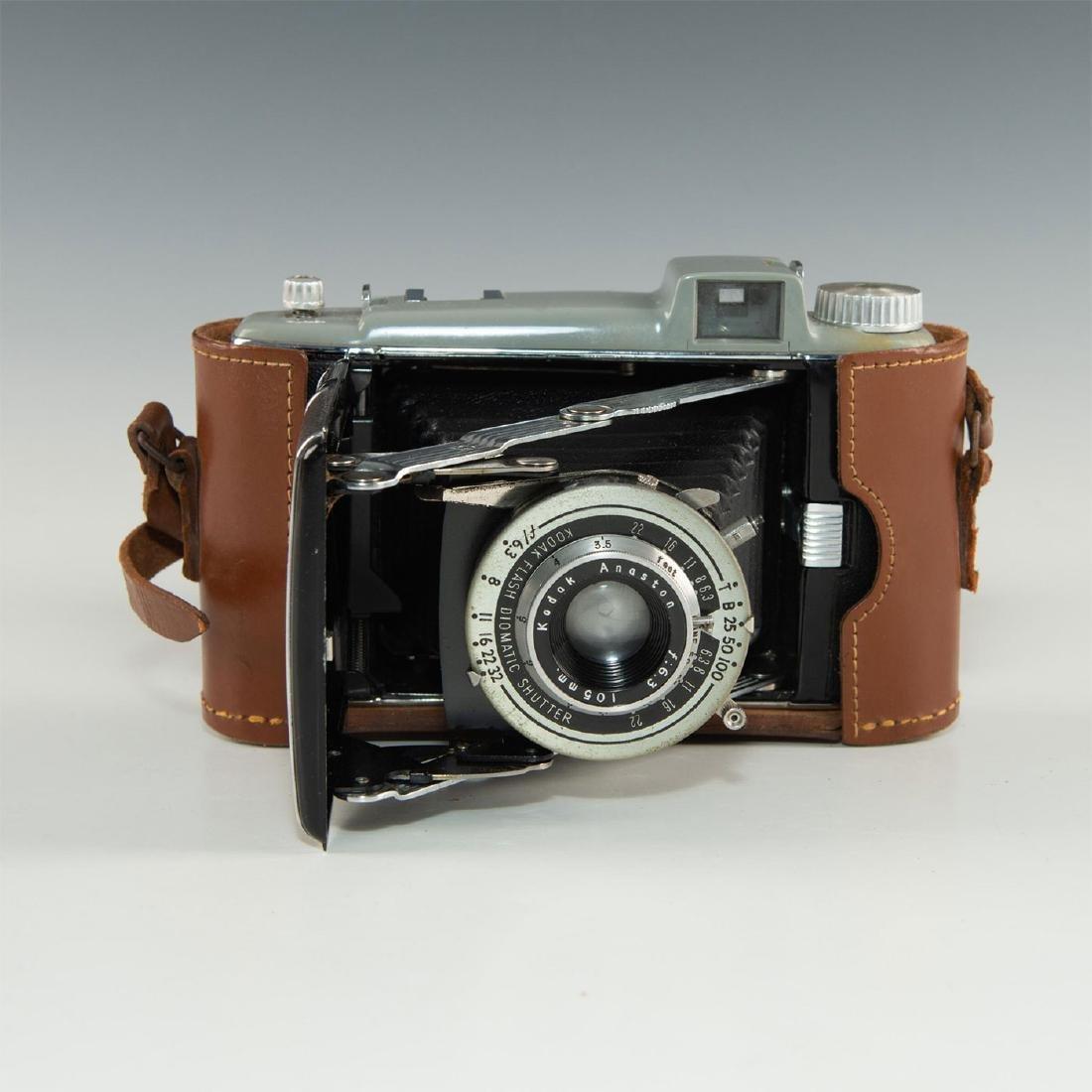 Antique Kodak Tourist Folding Camera Lens Wine Bottle Stopper Wine Accessory