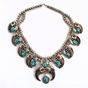 Native American Jewelry Auction Prices - 356 Auction Price