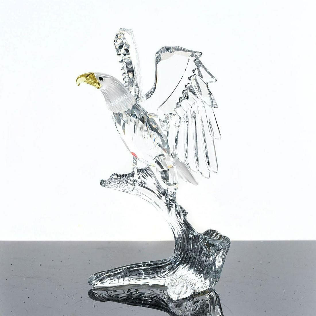 SWAROVSKI SILVER CRYSTAL FIGURE, BALD EAGLE