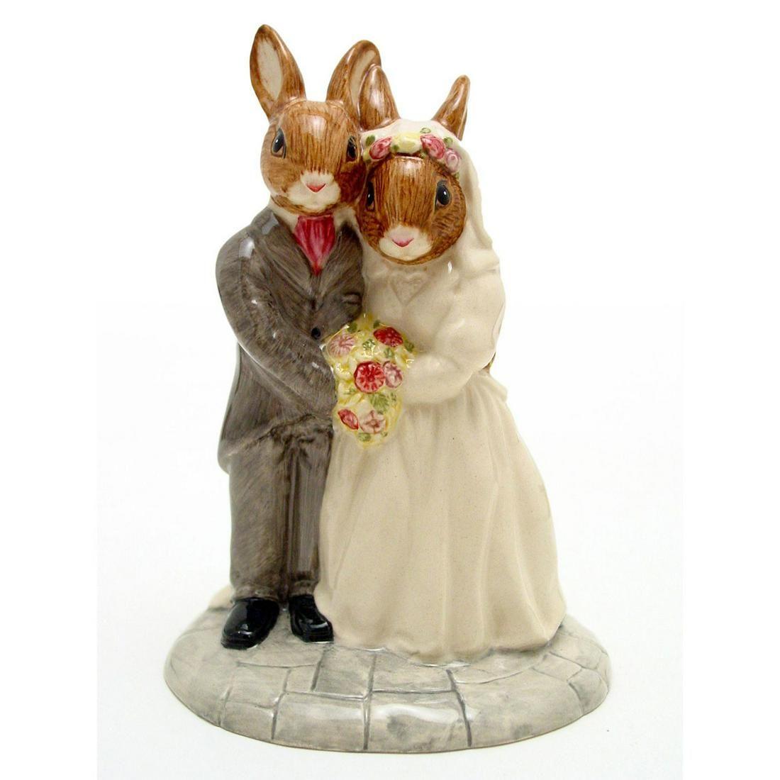 ROYAL DOULTON BUNNYKINS FIGURINE, WEDDING DAY DB287