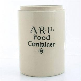 DOULTON LAMBETH ARP FOOD CONTAINER