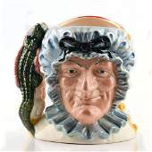 PUNCH AND JUDY D6946 (DOUBLE-FACED) - LARGE - ROYAL
